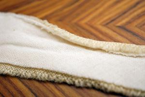 ネクタイ芯の取り替え